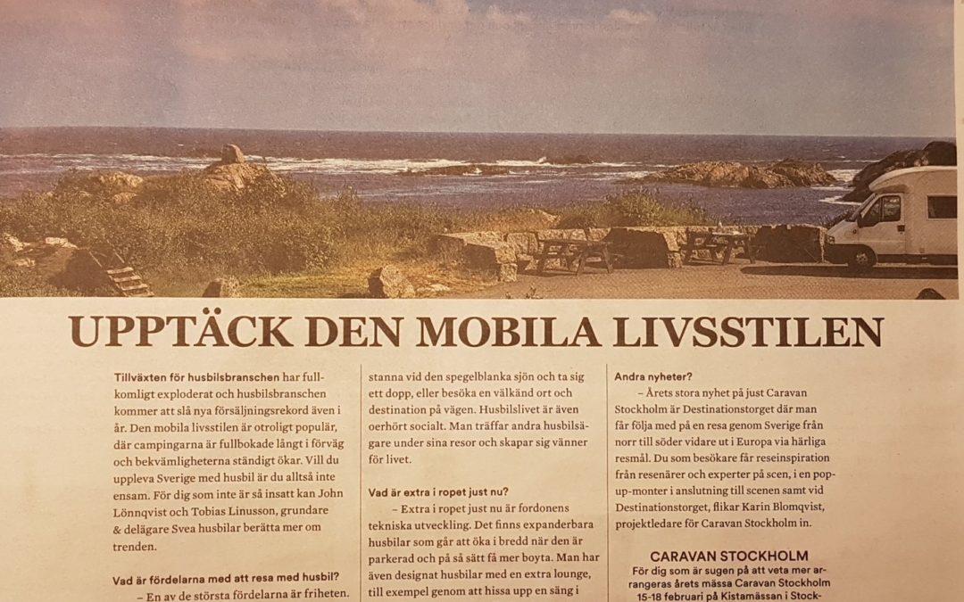 Svea Husbilar i SVDs Vinterguide