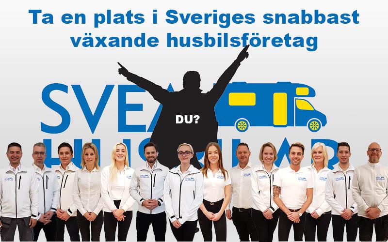 Ta en plats i Sveriges snabbast växande husbilsföretag