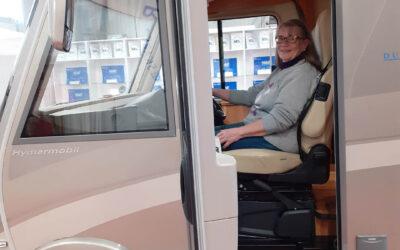 Maud sålde huset och köpte husbil – Förhöjer livskvalitén som pensionär