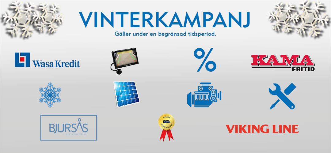 Vinterkampanj kampanjsida