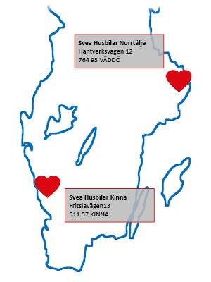 Karta Svea Husbilar