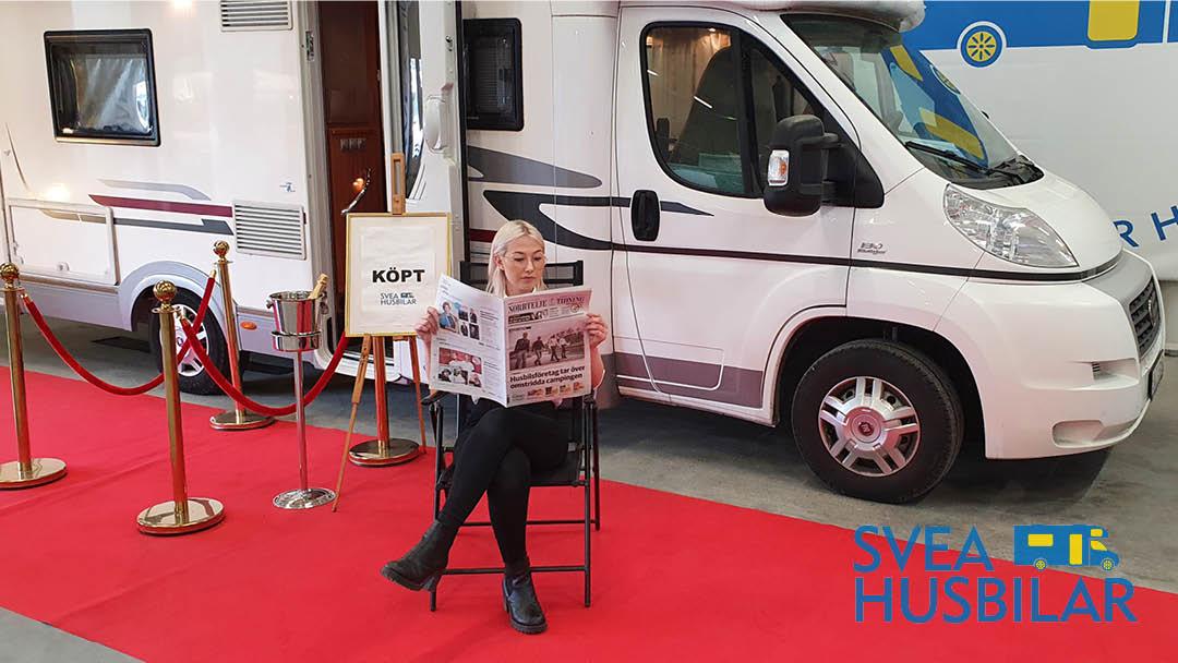 Svea Husbilar öppnar Camping